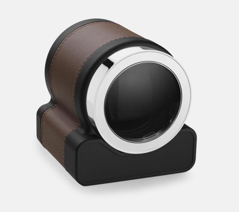Scatola Del Tempo Rotor One Chestnut Brown