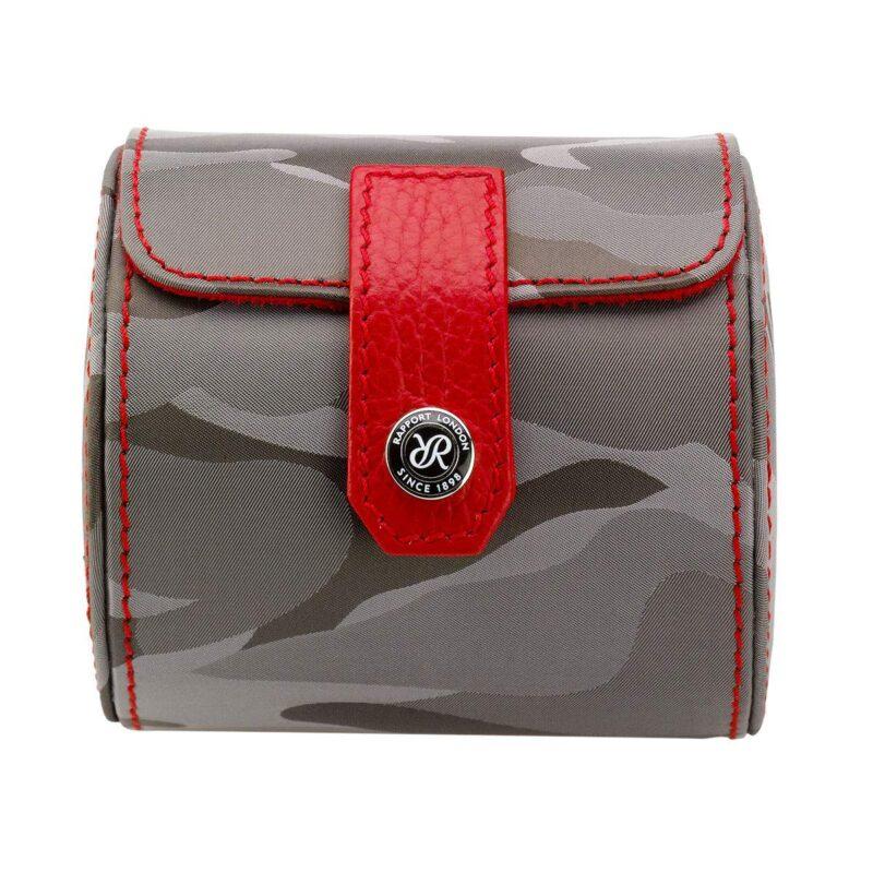 Rapport Hunter Camouflage Single Watch Roll Grey
