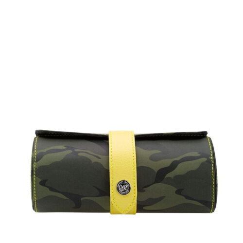 Rapport Hunter Camouflage Three Watch Roll Green