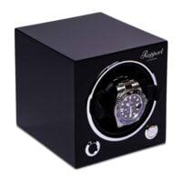 Rapport Evolution Cube Watch Winder Black