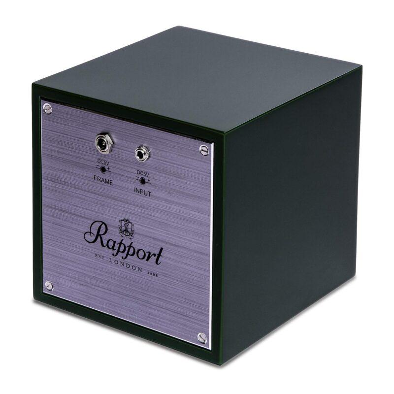 Rapport Evolution Cube Watch Winder Admiral Blue