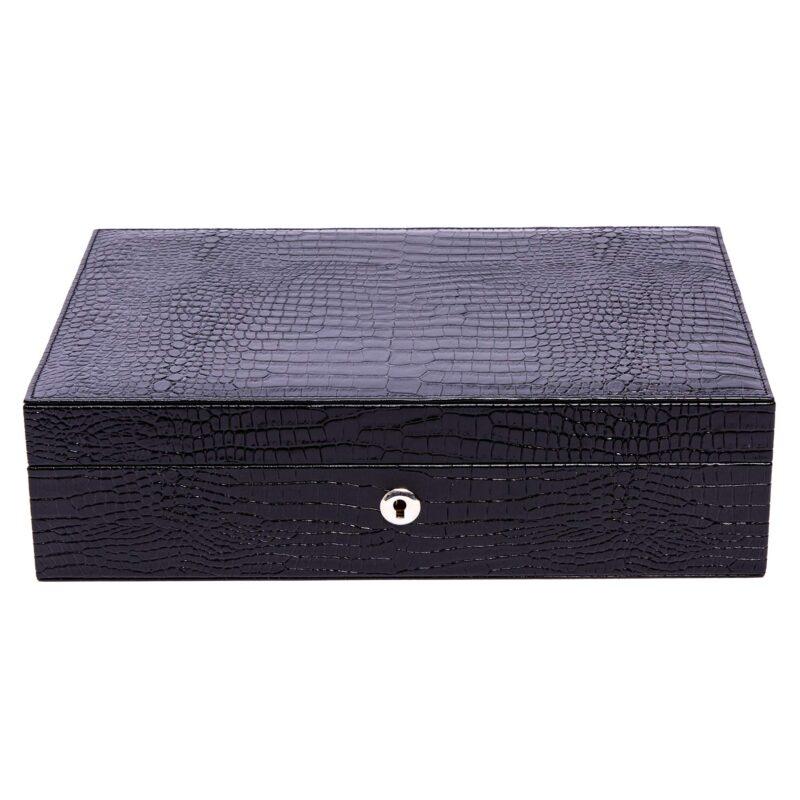 Rapport Brompton Ten Watch Box Black