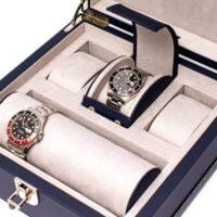 Rapport Kensington Navy Six Watch Box Navy