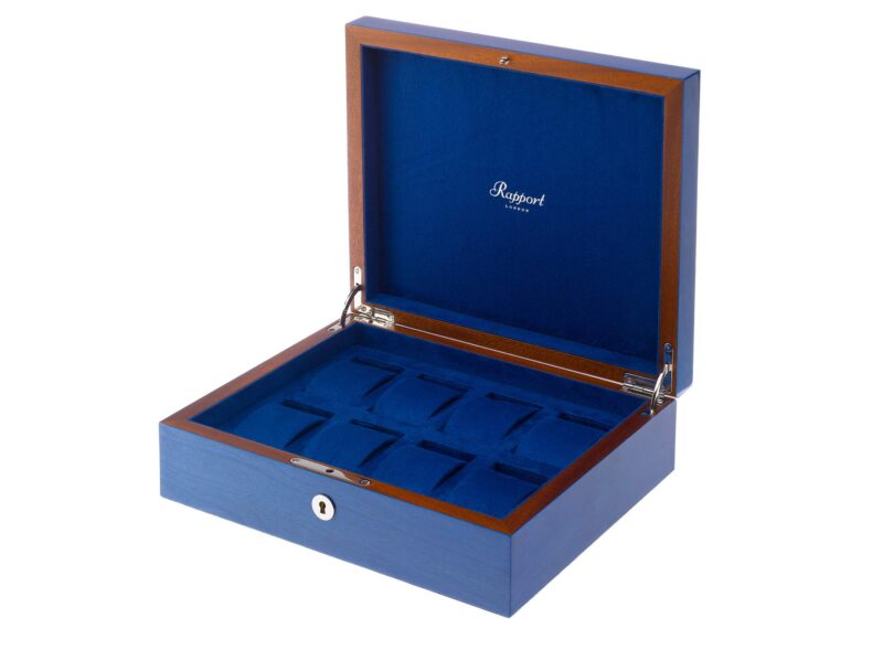 Rapport Heritage Watch Box Eight Blue