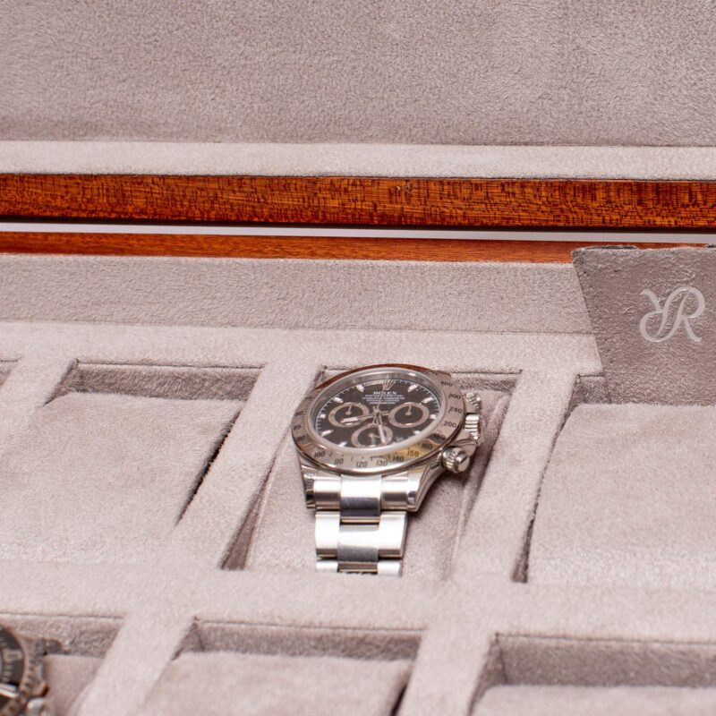 Rapport Heritage Watch Box Eight Grey