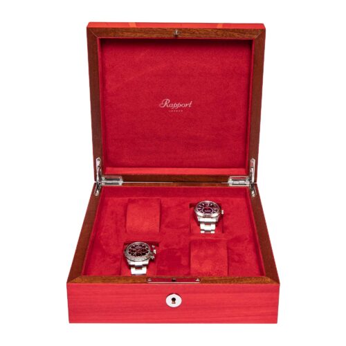 Rapport Heritage Watch Box Four Red