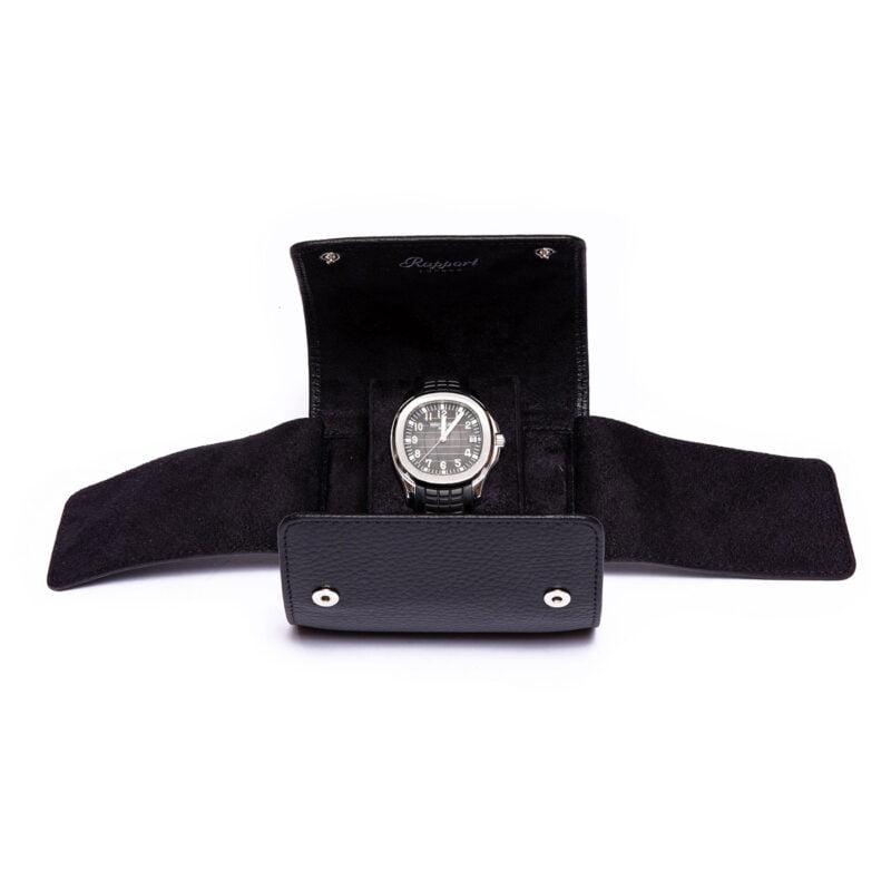 Rapport D190 Berkeley Single Watch Roll Black