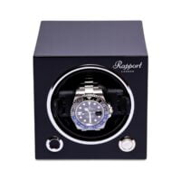 Rapport EVO40 Evolution Cube Watch Winder Black-_EVO20_45815c15-ae8f-4a07-99b9-90b7f2914332_1800x1800