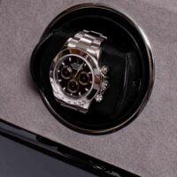 Rapport W571 Perpetua III Single Watch Winder Black-_W571_Closeup_1800x1800