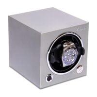 Rapport EVO45 Evolution Cube Watch Winder Platinum Silver-_EVO25_Left_1800x1800