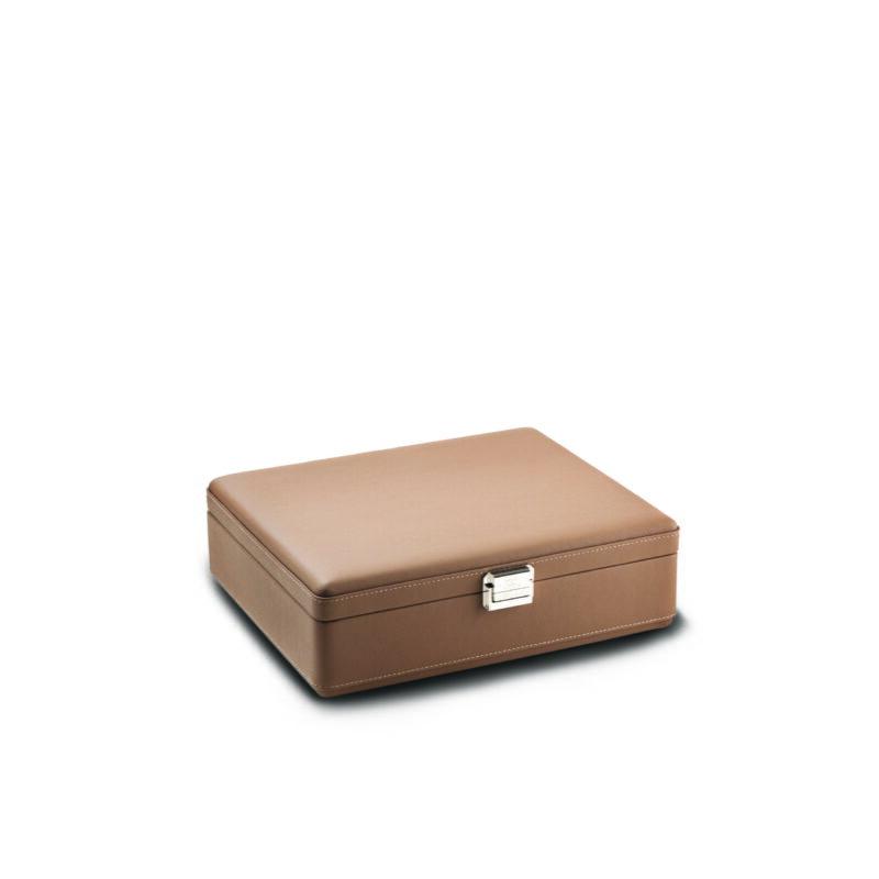 Scatola Del Tempo Valigetta 4 Chestnut Brown