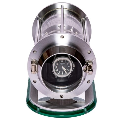 Rapport Optima Time Capsule Watch Winder Silver