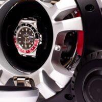 Rapport Wheel Watch Winder Black